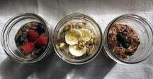 Jar Food / Healthy, make-ahead, portable foods fit for a jar