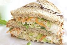 Sandwiches / by Mona Attaei