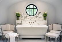 Bathrooms / by wendy reimer interior designer
