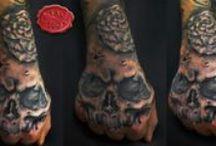 engraved circus tattoo parlour...art on skin / circus tattoo parlour art...