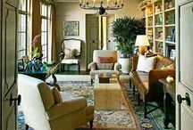 Living Spaces / Beautiful rooms are to be lived in.