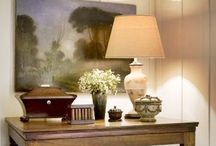 Vignettes / Table / dresser decorations and object placement.