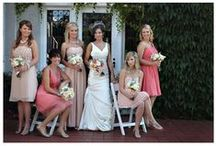 Mix-n-Match Bridesmaid's Attire / Matching bridesmaids dresses can be beautiful. But coordinating bridesmaids attire can also be stunning!