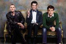 doctor / Wibbley wobbley, timey wimey stuff.  &tenrose &thedoctordonna &eleven