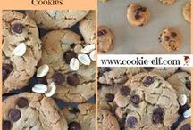 Chocolate Chip Cookies / Chocolate Chip Cookie inspiration -- all kinds! Get more baking tips and easy recipes for chocolate chip cookies here: http://www.cookie-elf.com/chocolate-chip-cookies.html