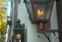 Outdoor Lighting / Light up the night.  Outdoor light fixtures for the home, lawn and garden.