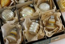 Vintage Christmas / Mostly ornaments!  Hummmmm, maybe all? / by Katherine Walsh