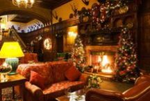 A cosy country Christmas / Inspiration for the perfect rural festivities.