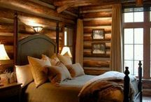 Mountain Retreat / The beauty of the mountains.  Mountain homes and decor.