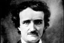 Edgar Allan Poe / Inspiration for our Edgar Allan Poe organic artwear t-shirts, accessories and home objects.