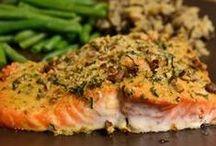 Salmon Recipes I Need to Try / by Mona Attaei