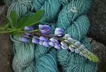 Dyeing, fibres, and fabrics as colour inspirations / Colour inspiration for fibre and fabrics