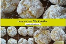 Lemon Cookies / Tangy and sweet together!