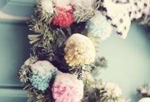 Christmas wreath style