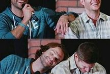 """Winchesters / """"I lost my shoe"""" """"I think I just killed death"""" """"Do I look like a ditchable prom date to you?"""" """"Oh, good, you're home. Look, I need to help me bury a body"""" """"No one in the history of torture's been tortured with torture like the torture you'll be tortured with"""" """"Yesterday was Tuesday. But today is Tuesday too!"""" """"You're like a walking encyclopedia of freak"""" """"I'm an Angel of the Lord"""" """"I assume it's because 7 is a prime number..."""" """"I found a liquor store. And I drank it!"""""""