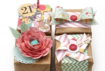 Gifts {AmberSimmons.com} / Gift wrapping ideas