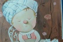 Gapchinska's ART / Работы Евгении Гапчинской. Евгения - украинская художница-живописец, иллюстратор детской литературы. / by Oleksandr Drozd