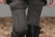 Leggings, Legwarmers, Tights, Stay-Ups, Stockings & Socks / by Linda Håkanson