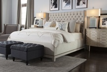 Sleep like a Kardashian / Bedrooms furnished & styled by City Furniture for Kourtney & Kim's Miami Show. Check out the furniture used for Khloe, Scott, & Kourtney's room.