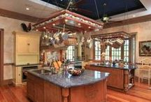 Beautiful Kitchens / We love beautiful design! We all dream about our dream kitchen - what kind of kitchen would you like?