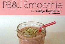 Recipes - Smoothie-licious {AmberSimmons.com} / Smoothie recipes