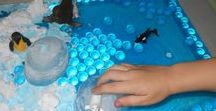 101 Sensory Bins / Here are 101 sensory bins ideas that your toddlers and preschoolers will love.
