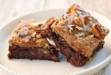 Recipes - Bars {AmberSimmons.com} / Bar desserts and treat recipes