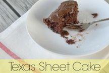 Recipes - Cake {AmberSimmons.com} / Cake and cupcake recipes