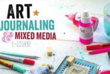 Art journal/ mixed media tutorials