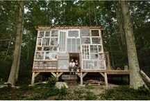 Tree Houses, Cabins and Tiny Houses