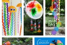 Kids crafting projects
