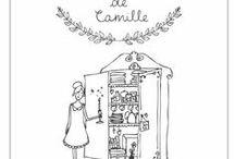Camille en dessins