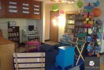 The Cozy Classroom Reading Area