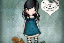 Gorjuss & cute  Illustrations