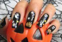 UÑAS DE HALLOWEEN / decoración de uñas para Halloween
