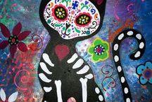 Dia De Los Muertos / For my sister Leah