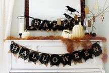 ☆ Halloween / Being a kid at heart helps keep us young! ♡ Let's decorate, carve pumpkins and roast seeds, host a party, dress up, give out treat bags. And enjoy my not-too-scary board!