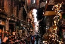 Streets of Naples and surroundings / Corners, alleys, squares, courtyards and much more...