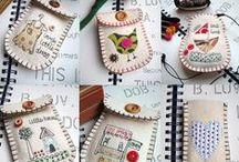 Embroidery / Ricamo e punti d'amore
