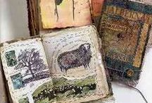 ART paper projects / playing with paper ~ mixed media art ~ doodles ~ cards, tags, art journals