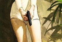 Etérea y el viajero extraplanario / Inspiración para ilustración de cómic, interpretaciones anátomicas y otras referencias.