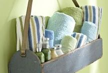 DIY Get organized / Great ideas for clearing clutter, getting organized, and cleaning up!