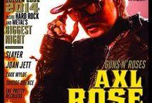 The best / Destinado a maior lenda viva do Rock:  Star Axl Rose! My Life!! My Love!!