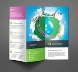 Travel brochure template / Refreshing travel brochure templates designs to create a brochure for any travel and tour related business.