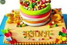 Özgün ve yeni pasta tasarımlarım... / Yeni tasarımlar...