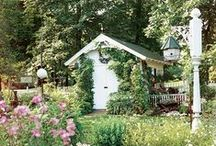 A Dreamy Shed / More than just a spot for potting plants, my dream shed is a restful retreat.