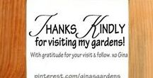 Thank You Kindly / ✿~♡ Thanks for visiting! My gratitude goes out for all the pins, and all the pinners who share, and all who enjoy and follow my boards! I love Pinterest, and all of you are truly appreciated. ♡~✿