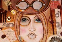my art / meine gezeichneten,gebastelten gemalten <werke