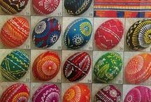 Pisanki woskowe- batik