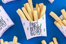 Party DIYs / From the perfect party finger foods to the best outfit and makeup duo, this board is filled with party DIYs, recipes and home decor ideas you will absolutely love.